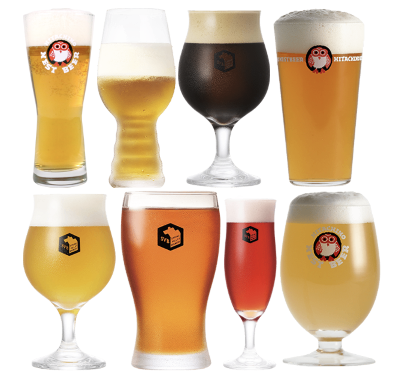2/27(水)18:30-20:30 シネマカフェ(ツー1F)クラフトビール8種飲み比べセミナー開催